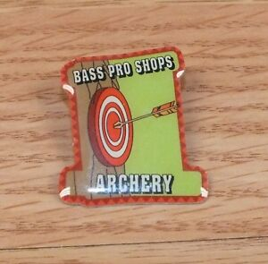 Bass Pro Shops Archery Target Collectible Aluminum Pin / Lapel Only