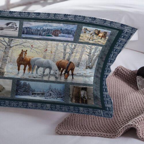 Horse Duvet Cover Set For Comforter Twin Full Queen King Size Bedding Set Animal