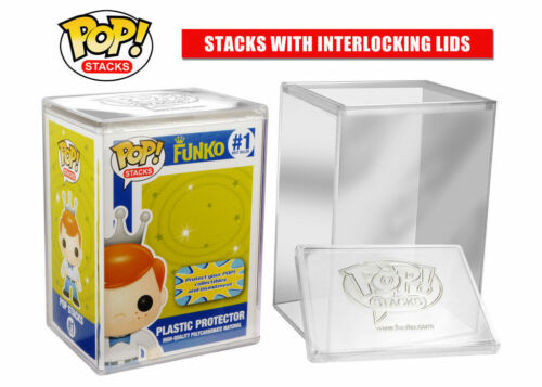 Funko Pop Stacks Premium Plastic Protector Case Protect Vinyl Figure
