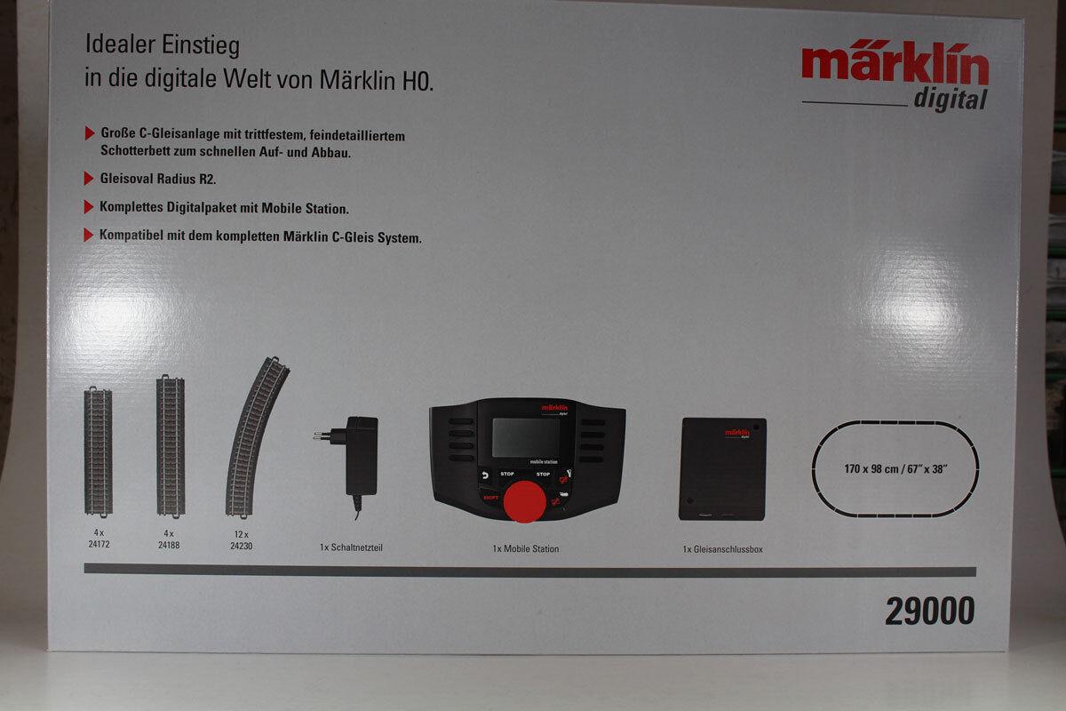 Marklin Digitale 29000. ingresso 230 volt con stazione stazione stazione mobile 60657, nuovi. ec4959