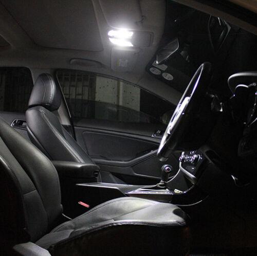 For VW T5 TRANSPORTER WHITE INTERIOR UPGRADE LED LIGHT BULBS ERROR FREE 6Ps Set