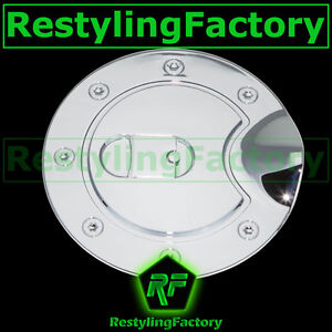 02-09-GMC-Envoy-Triple-Chrome-Plated-Plastic-ABS-Gas-Fuel-Tank-Door-Cover-SUV