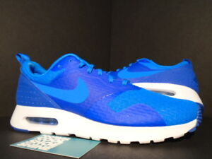 Details about 2015 Nike Air Max TAVAS ESSENTIAL 1 PHOTO BLUE ROYAL WHITE 725073 400 NEW 9