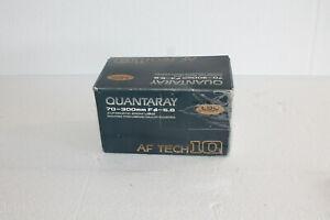 QUANTRAY-AF-Tech-10-AUTOMATIC-ZOOM-LENS-70-300-ZOOM-ORIGINAL-BOX-MANUAL