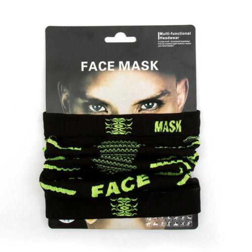 Bike Bicycle Cycling Thermal Face Mask Neck Gaiter Tube Warmer Scarf Bandana Hat