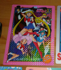 SAILOR MOON R JUMBO CARDDASS CARD CARTE 1 MADE IN JAPAN 1993 ULTRA RARE NM>M