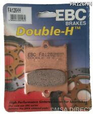 Aprilia RS125 (1992 to 2005) EBC Double-H Sintered FRONT Brake Pads (FA126HH)