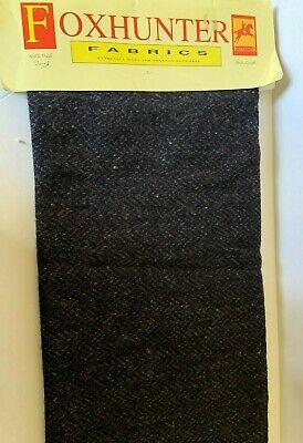 HANDWOVEN WOOL fabric from IRELAND Irish vintage 1980/'s