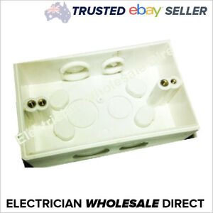Weatherproof-Mounting-Block-IP66-for-Power-Point-Conduit-Electrical-Industrial
