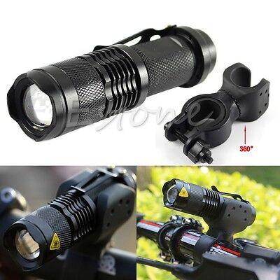 Q5 LED 1200LM Cycling Bike Bicycle Head Front Light Flashlight + 360° Mount
