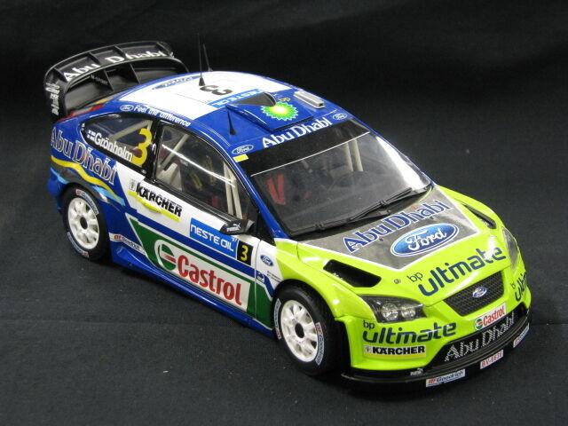 Sun Estrella Ford Focus WRC WRC WRC 2007 1 18  3 Grönholm   Rautiainen Rtuttiy Finle (MCC) 931cae