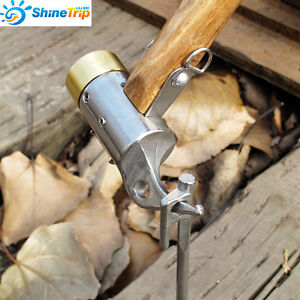 Image is loading Heavy-Duty-C&ing-Brass-Mallet-Hammer-Tent-Pegs- & Heavy Duty Camping Brass Mallet Hammer Tent Pegs Stake Nail Puller ...