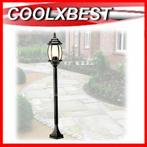 NEW-1-1M-GARDEN-PATH-LAMP-POST-LIGHT-DRIVEWAY-POOL-ANTIQUE-PROVINCIAL-STYLE