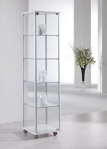 Vetrina Vetrinetta Teca alluminio vetro modellini modellismo ...