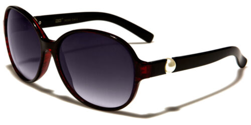 NEW CG Butterfly Women/'s Round Stylish White Pearl Sunglasses CG36285 Free Case