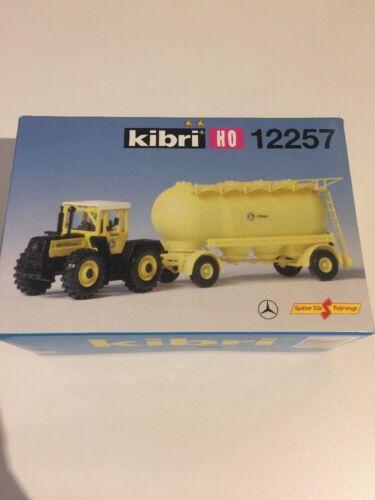 Spur H0 Kibri 12257 MB Traktor TRAC Mit Anhänger Neu