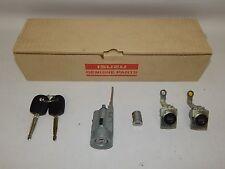 New OEM 2012-2016 Isuzu D-Max Key Cylinder Set Kit Door Glove Box w/o Remote