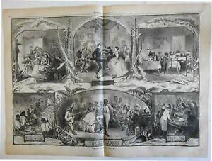 home-domestic-scenes-Black-Americans-Breakdown-dance-1861-Harper-039-s-print