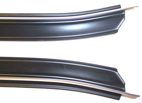 1987-1993 Ford Mustang convertible window sweep seals belt line molding 4 pcs