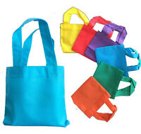 "Cheap Bulk Lot Qty 12 Mini Tote Bag 6"" Reusable Eco Friendly Small Bag 6 Colors"