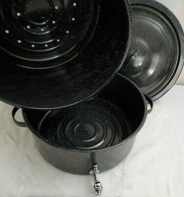GraniteWare Clam /& Lobster Steamer With Faucet