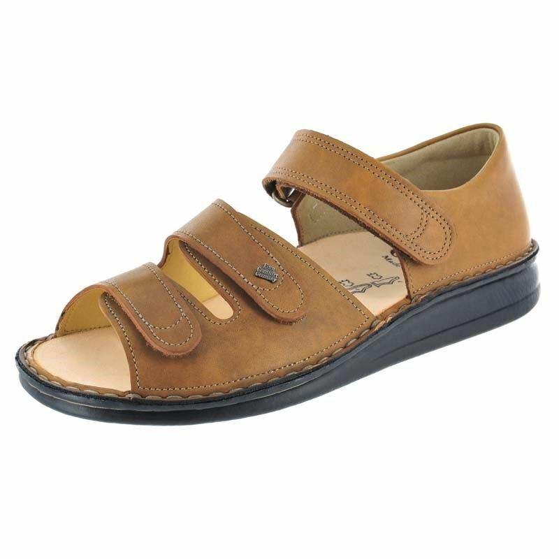 Finn Women's Baltrum Leather Sandals Nut Kansas 1518-073049