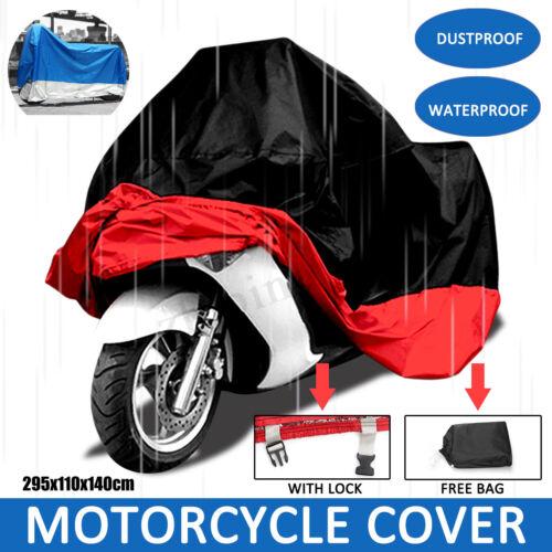 Motorcycle Cover Bike Waterproof For Harley Davidson Outdoor Rain Dust XXXXL