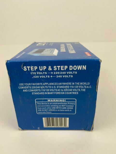 Philmore ST300 300 Watts 110 to 220 Volt Step Up//step Down Transformer for sale online