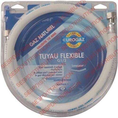 "tuyau gaz de ville GAZ Naturel garantie 10 ans FF1//2/""  flexible gaz de ville"