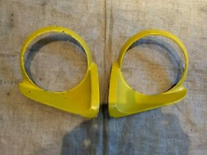 TRIUMPH-SPITFIRE-HEAD-LIGHT-SURROUNDS-GENUINE-USED-CLASSIC-TRIUMPH-PARTS