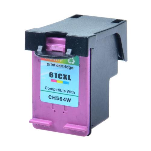 61-XL 61XL Black /& Color Ink Cartridge CH563W CH564W For HP Deskjet 1512 2000