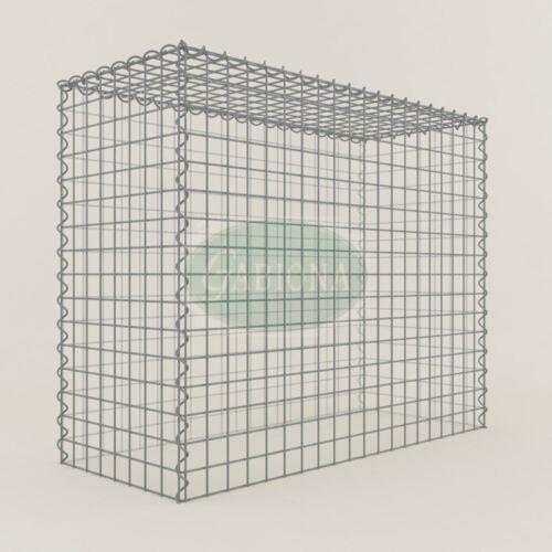 Maschenweite 5 x 5 cm ANBAU-GABIONE Typ3 Steinkorb 100 x 80 x 40 cm Gabionen