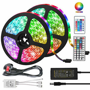 20m 15m 10m 5m 300 Led 3528 5050 Rgb Led Strip Lights Flexible 12v Waterproof Au Ebay