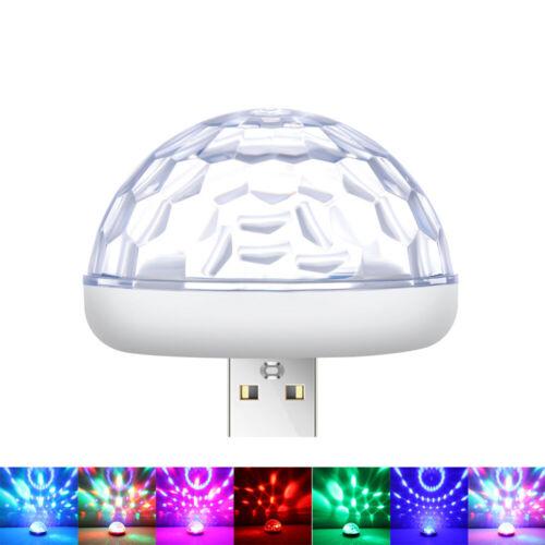 Multi Color USB LED Car Interior Lighting Kit Atmosphere Light Neon Lamps New