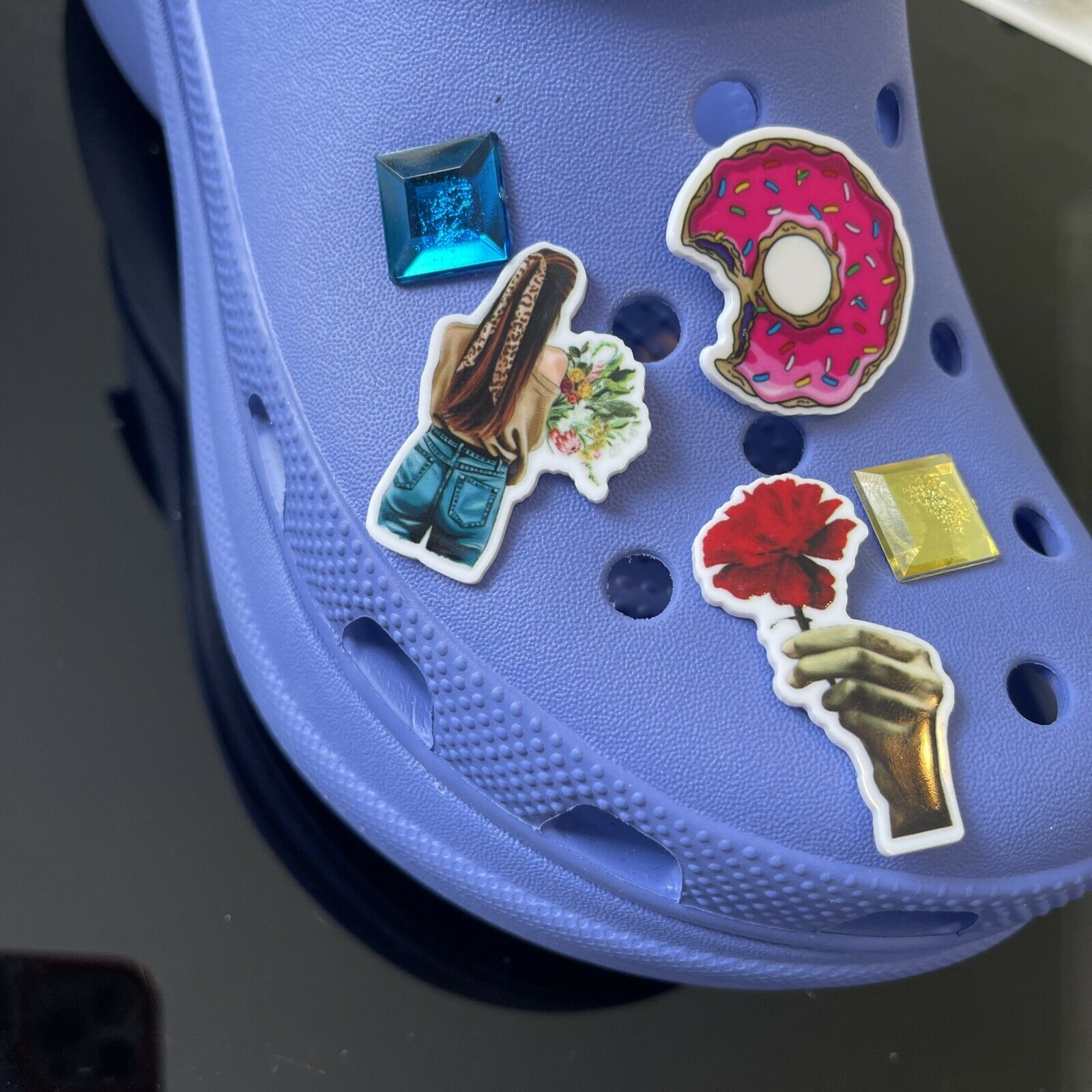 crocs inspired charms - Set Of 5 Charms