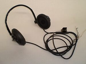 Army-Headset-To-Suit-AN-PSS-11-Mine-Detector-NSN-5965-953-0072-Dated-1969-NOS