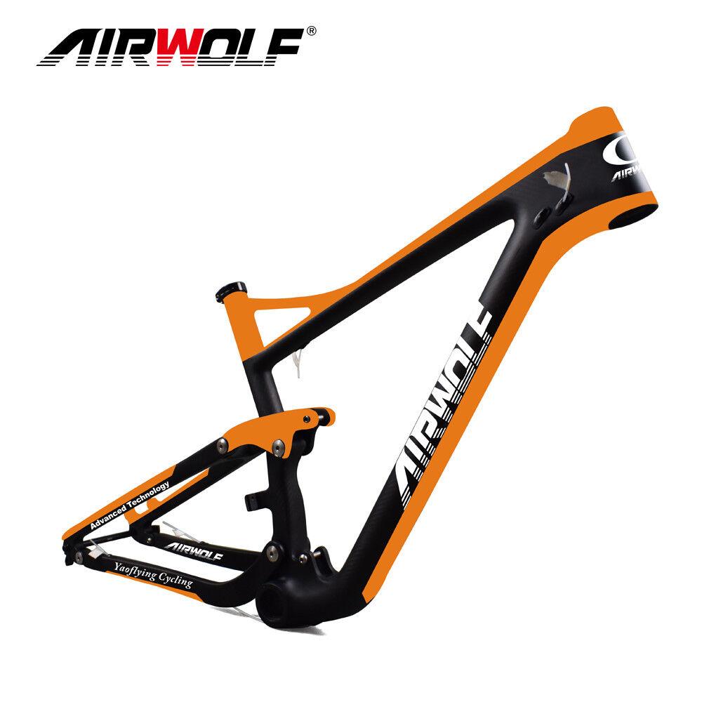 29ER T1000 carbon carbon carbon fiber suspension frame,suspension carbon mtb frame bike frame bdca28