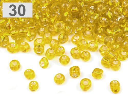 K3301 Perles De Verre Rocaille 4 mm 30 g *