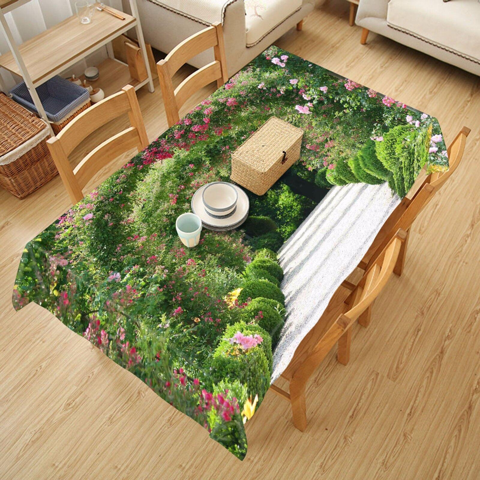 3D Arch Park Nappe Table Cover Cloth fête d'anniversaire AJ papier peint Royaume-Uni Citron