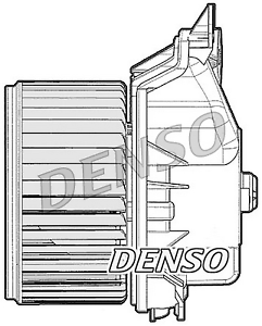 Intérieur Ventilateur-Denso dea20012