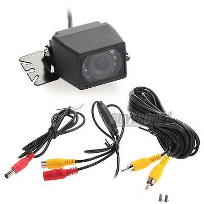 Car Reversing Camera Rear View Night Vision IR LEDs Waterproof Backup Camera