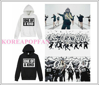 G-DRAGON TAEYANG GD ONE OF A KIND HOODIE Bigbang MADE PULLOVER KPOP NEW