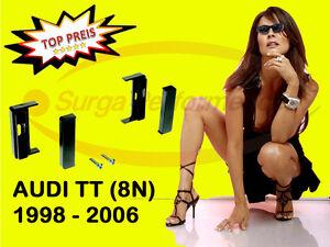 RADIO-BLENDE-RAHMEN-DIN-Audi-AUDI-A2-8Z-A4-B5-A3-8L-A6-C5-TT-Profi-SURGA