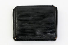 Authentic LOUIS VUITTON Porte Monnaie Boite Epi Coin Case Black #3731YE