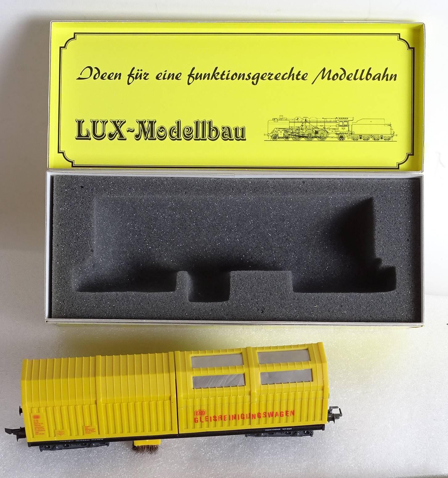 garantía de crédito Lux Modelismo H0 Vagón Limpiador 8811M Rareza Rareza Rareza H0 Vacío Limpiador con Caja Orig.  encuentra tu favorito aquí