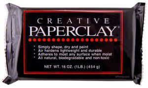 Details about Creative Paperclay Modeling Material 16 oz 454 g Air Dry  Paper Clay