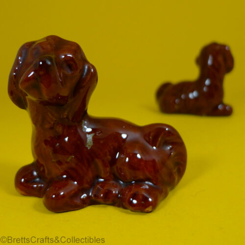 Wade Whimsies 1973//Set #3 Dogs /& Puppies Series -Red Setter Puppy -A 1969//82