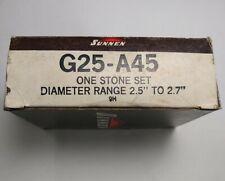 Sunnen Portable Stone Set Hone G25 A45 Stone Set Honing 9h 25 27