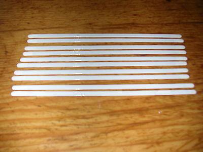 10 Volte L Ricambio Supporti Per Reggiseno Corsetto Bianco Staffa Bastoncini Hobby Sartoria 20 Cm-mostra Il Titolo Originale Sapore Fragrante (In)