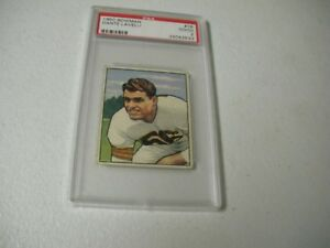 Dante-Lavelli-Cleveland-Browns-1950-Bowman-Rookie-Card-PSA-Graded-Good-2